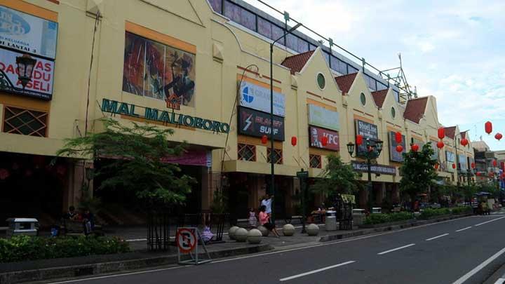 Pusat Perbelanjaan Jalan Malioboro
