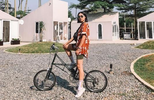 Inspirasi Outfit Bersepeda Yang Trendi